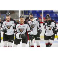 Centre Jadon Joseph and the Vancouver Giants