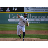 Somerset Patriots pitcher Liam O'Sullivan