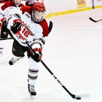 Michael Ederer with St. Lawrence University
