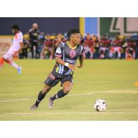 Tabort Etaka Preston led Las Vegas Lights FC with four shots taken, with two of them being on target