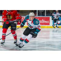 Kelowna Rockets centre Kyle Topping