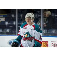 Cole Carrier with the Kelowna Rockets