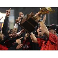New Jersey Jackals celebrate the 2019 Can-Am League Championship